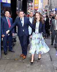 Keira Knightley arrives to Good Morning America. 13 Sep 2018 Pictured: Keira Knightley. Photo credit: Joe Russo / MEGA TheMegaAgency.com +1 888 505 6342