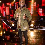 NLD/Hilversum/20170120 - 2de liveshow The Voice of Holland 2017, Dwight Dissels