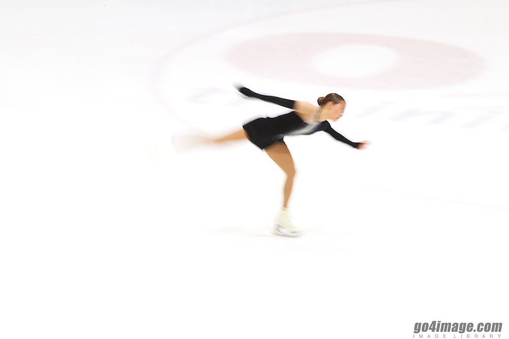 Luzern, Switzerland, 16 December 2016, Figure Skating National Championship, Short program   Figure Ice Skating, Yasmine Kimiko Yamada