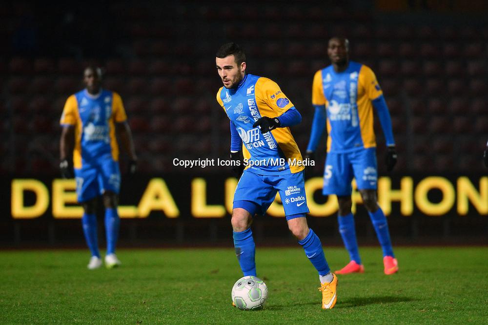 Aurelien MONTAROUP - 23.01.2015 - Creteil / Laval - 21eme journee de Ligue 2<br /> Photo : Dave Winter / Icon Sport