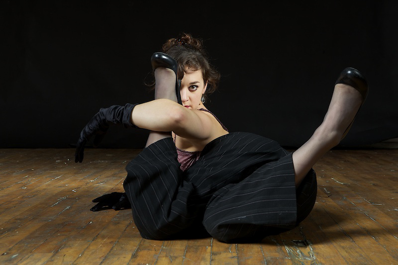 Andreane Leclerc is a Montreal-based contortionist who makes regular appearances with The Unsettlers and in carnival settings.