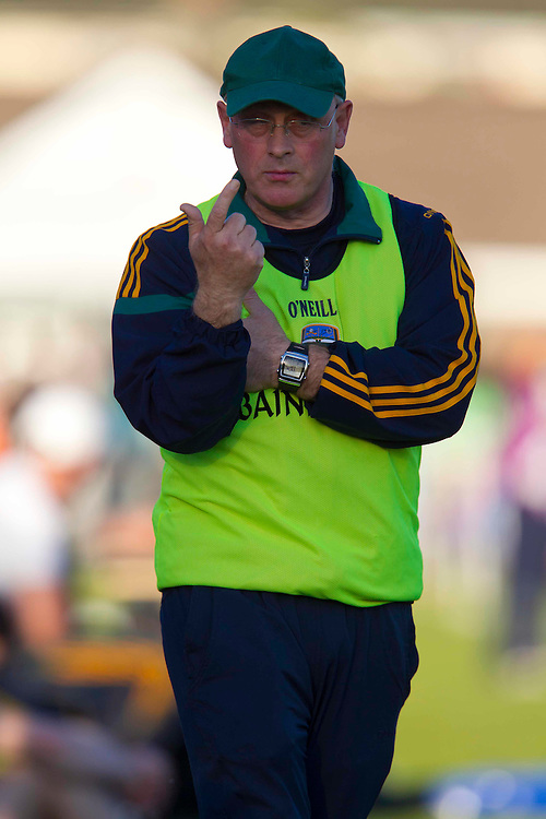 Senior Football Championship Quarter Final Replay. Meath vs Laois 19/6/10.Meath Manager Eamon O`Brien.Photo: David Mullen /www.cyberimages.net