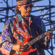 Carlos Santana plays The Gorge Ampitheater in George, Wa. on 9-9-1995