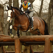 Martha Griggs (CAN) and Sir Judd at the Morven Park Spring Horse Trials held in Leesburg, Virginia