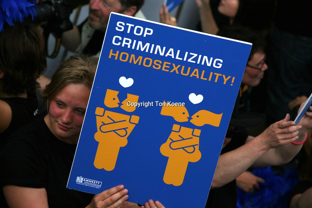 gay pride in Amsterdam