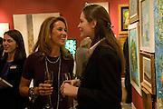 ANDREAS TSAVLIRIS; MILENA TSAVLIRIS; NATALYA TSAVLIRIS, Preview of Greek Sale sponsored by Citibank. Sotheby's. New Bond st. London. 10 November 2008 *** Local Caption *** -DO NOT ARCHIVE -Copyright Photograph by Dafydd Jones. 248 Clapham Rd. London SW9 0PZ. Tel 0207 820 0771. www.dafjones.com
