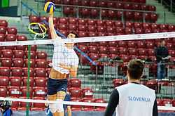 Alen Sket during practice session of Slovenian National Volleyball team in the morning before Semifinal match against Italy at 2015 CEV Volleyball European Championship - Men, on October 17, 2015 in Arena Armeec, Sofia, Bulgaria. Photo by Vid Ponikvar / Sportida