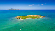 Flat Island, Kailua,Beach,  Oahu, Hawaii
