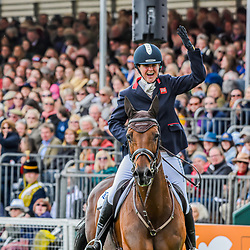 Piggy French wins the Badminton horse trials of 2019 Badminton Gloucester England UK Badminton Horse trials 2019 Winner Piggy French wins the title