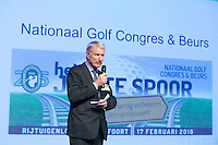 AMERSFOORT - NVG voorzitter, Tinus Vernooij. Nationaal Golf Congres & Beurs (Het Juiste Spoor) van de NVG.     © Koen Suyk.