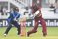 Danesh Ramdin (wicket-keeper) of West Indies during the International Twenty/20 match at Lord's, London<br /> Picture by Simon Dael/Focus Images Ltd 07866 555979<br /> 31/05/2018
