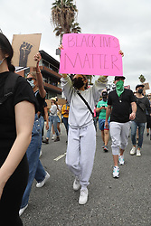 Madison Beer is seen at the black lives matter protest in LA. 05 Jun 2020 Pictured: Madison Beer. Photo credit: 007 / MEGA TheMegaAgency.com +1 888 505 6342