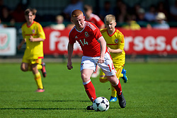 NEWPORT, WALES - Wednesday, July 25, 2018: Aaron Bennett during the Welsh Football Trust Cymru Cup 2018 at Dragon Park. (Pic by Paul Greenwood/Propaganda)