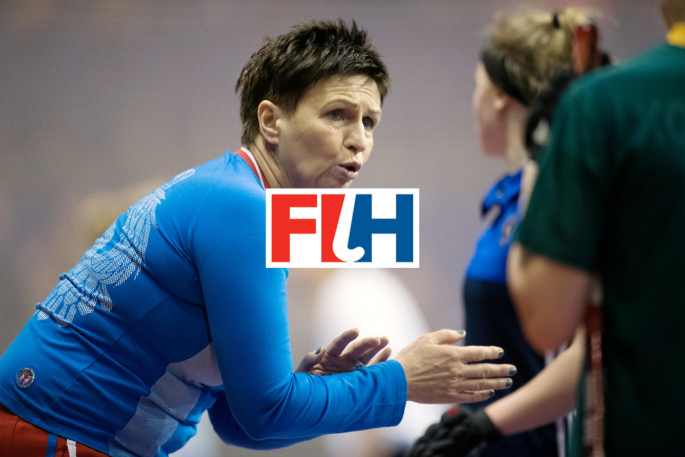 BERLIN - Indoor Hockey World Cup<br /> Women: Russia - Czech Republic<br /> foto: IVANOVA Svetlana.<br /> WORLDSPORTPICS COPYRIGHT FRANK UIJLENBROEK