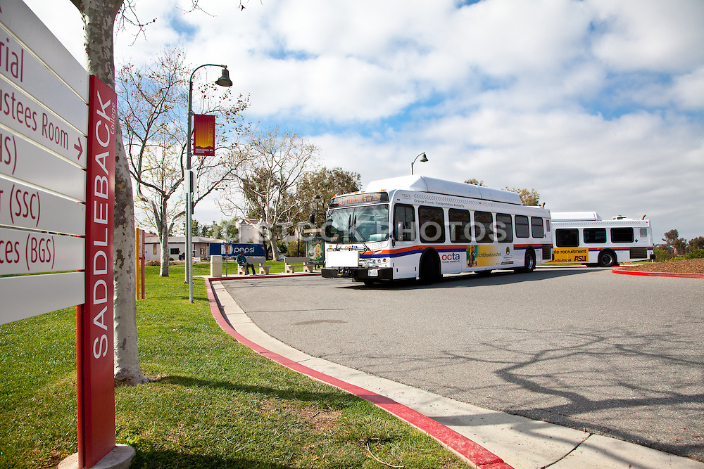 OCTA Bus Route 91 At Saddleback Community College