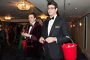 EDDIE PEASE; EDWARD SANTS, THE 35TH WHITE KNIGHTS BALLIN AID OF THE ORDER OF MALTA VOLUNTEERS' WORK WITH ADULTS AND CHILDREN WITH DISABILITIES AND ILLNESS. The Great Room, Grosvenor House Hotel, Park Lane W1. 11 January 2014