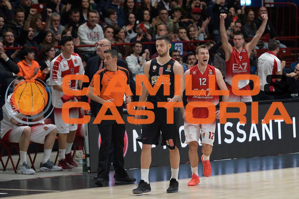 Dragic Zoran<br /> EA7 Emporio Armani Olimpia Milano - Olympiacos Piraeus<br /> Euroleague 2016/2017<br /> Milano 25/01/2017<br /> Foto Ciamillo-Castoria