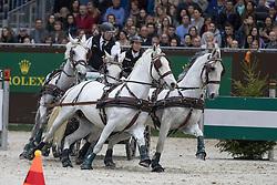 Dobrovitz Jozsef , HUN, Incitato Pandur, Kiskedves, Platon, Pottom<br /> Prix Brasserie Egger<br /> CHI de Genève 2016<br /> © Hippo Foto - Dirk Caremans<br /> 10/12/2016