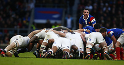February 10, 2019 - London, England, United Kingdom - Louis Picamoles of France.during the Guiness 6 Nations Rugby match between England and France at Twickenham  Stadium on February 10th, 2019 in Twickenham, London,  England. (Credit Image: © Action Foto Sport/NurPhoto via ZUMA Press)