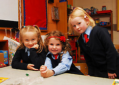 1st Day for Junior Infants at Westport Schools
