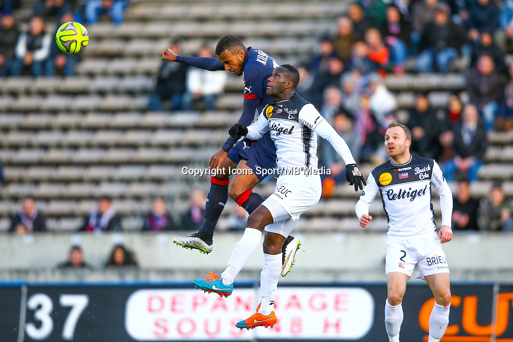 Isaac Kiese Thelin  - 01.02.2015 - Bordeaux / Guingamp - 23eme journee de Ligue 1 -<br /> Photo : Manuel Blondeau / Icon Sport