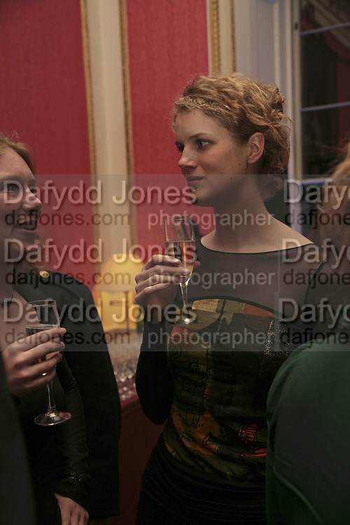PHILIPPA NOAKES, Literary Review's Bad Sex In Fiction Prize.  In &amp; Out Club (The Naval &amp; Military Club), 4 St James's Square, London, SW1, 29 November 2006. <br />Ceremony honouring author who writes about sex in a 'redundant, perfunctory, unconvincing and embarrassing way'. ONE TIME USE ONLY - DO NOT ARCHIVE  &copy; Copyright Photograph by Dafydd Jones 248 CLAPHAM PARK RD. LONDON SW90PZ.  Tel 020 7733 0108 www.dafjones.com