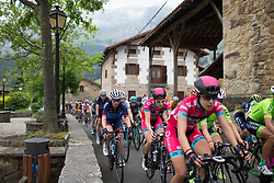 Shani Bloch (ISR) of Veloconcept Cycling Team reaches Axpe mid-pack during Stage 1 of the Emakumeen Bira - a 50 km road race, starting and finishing in Iurreta on May 16, 2017, in Basque Country, Spain.
