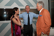 CATHERINE ZETA JONES;  PAT RILEY,,  Dom PŽrignon with Alex Dellal, Stavros Niarchos, and Vito Schnabel celebrate Dom PŽrignon Luminous. W Hotel Miami Beach. Opening of Miami Art Basel 2011, Miami Beach. 1 December 2011. .<br /> CATHERINE ZETA JONES;  PAT RILEY,,  Dom Pérignon with Alex Dellal, Stavros Niarchos, and Vito Schnabel celebrate Dom Pérignon Luminous. W Hotel Miami Beach. Opening of Miami Art Basel 2011, Miami Beach. 1 December 2011. .