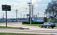 Entrance, US Naval Base, Norfolk, Virginia, USA, United States of America, 19880504NV5.<br /> <br /> Copyright Image from Victor Patterson, 54 Dorchester Park, Belfast, UK, BT9 6RJ<br /> <br /> t1: +44 28 9066 1296 (from Rep of Ireland 048 9066 1296)<br /> t2: +44 28 9002 2446 (from Rep of Ireland 048 9002 2446)<br /> m: +44 7802 353836<br /> <br /> victorpattersonbelfast@gmail.com<br /> victorpatterson@me.com<br /> <br /> www.victorpatterson.com<br /> <br /> Please see my Terms and Conditions of Use at victorpatterson.com. It is IMPORTANT that you familiarise yourself with them.<br /> <br /> Images used on the Internet incur an additional cost and must be visibly watermarked i.e. ©Victor Patterson within the body of the image and copyright metadata must not be deleted. Images used on the Internet have a size restriction of 4kbs and are chargeable at rates available at victorpatterson.com.<br /> <br /> This image is available only for the use of the download recipient i.e. television station, newspaper, magazine, book publisher, etc, and must not be passed on to any third party. It is also downloaded on condition that each and every usage is notified within 7 days to victorpatterson@me.com<br /> <br /> The right of Victor Patterson (or the named photographer) to be identified as the author is asserted in accordance with The Copyright Designs And Patents Act (1988). All moral rights are asserted.