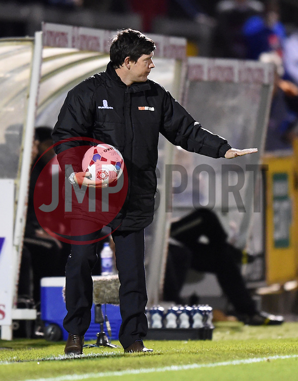 Bristol Rovers Manager, Darrell Clarke - Photo mandatory by-line: Paul Knight/JMP - Mobile: 07966 386802 - 19/12/2014 - SPORT - Football - Bristol - The Memorial Stadium - Bristol Rovers v Gateshead - Vanarama Conference