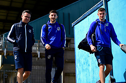 Tom Lockyer of Bristol Rovers and Adam Smith of Bristol Rovers arrives at Memorial Stadium prior to kick off - Mandatory by-line: Ryan Hiscott/JMP - 04/05/2019 - FOOTBALL - Memorial Stadium - Bristol, England - Bristol Rovers v Barnsley - Sky Bet League One