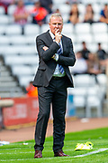 Manager of Portsmouth FC, Kenny Jackett during the EFL Sky Bet League 1 match between Sunderland and Portsmouth at the Stadium Of Light, Sunderland, England on 17 August 2019.
