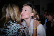 Princess Chantal of Hanover and  Daphne Guinness. Tod's hosts Book signing with Dante Ferretti celebrating the launch of 'Ferretti,- The art of production design' by Dante Ferretti. after-party at San Lorenzo. 19 April 2005.  ONE TIME USE ONLY - DO NOT ARCHIVE  © Copyright Photograph by Dafydd Jones 66 Stockwell Park Rd. London SW9 0DA Tel 020 7733 0108 www.dafjones.com