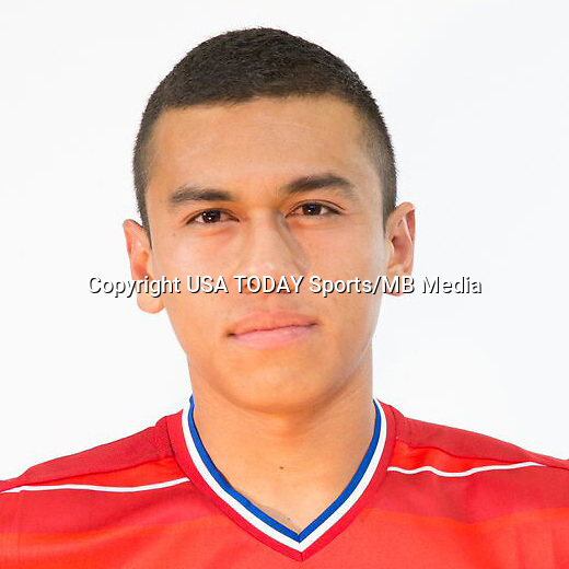 Feb 25, 2016; USA; FC Dallas player Carlos Lizarazo poses for a photo. Mandatory Credit: USA TODAY Sports