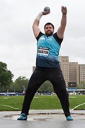 adidas Grand Prix Diamond League professional track & field meet: mens shot put, Cory MARTIN, USA