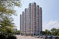 Architectural photography of Key Towers Apartments in Alexandria VA by Jeffrey Sauers of Commercial Photographics.