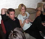 **EXCLUSIVE**.Kevin Connolly, of Entourage, with a mystery blond at Unik's Karaoke Sunday Night Party.New York, NY, USA .Sunday, June 10, 2007.Photo By Celebrityvibe.To license this image call (212) 410 5354 or;.Email: celebrityvibe@gmail.com; .