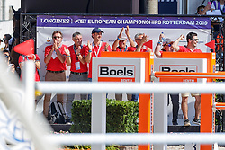 Fuchs Martin, SUI, Clooney 51<br /> European Championship Jumping<br /> Rotterdam 2019<br /> © Hippo Foto - Stefan Lafrentz
