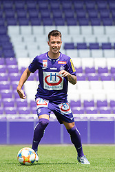 16.07.2019, Generali Arena, Wien, AUT, 1. FBL, FK Austria Wien, Fototermin, im Bild Dominik Prokop // Dominik Prokop during the official team and portrait photoshooting of tipico Bundesliga Club FK Austria Wien for the upcoming Season at the Generali Arena in Vienna, Austria on 2019/07/16. EXPA Pictures © 2019, PhotoCredit: EXPA/ Florian Schroetter