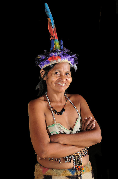 Ticuna Woman,Amazon,Colombia