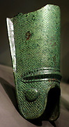 Greave of a murmillo Bronze
