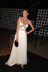 OLIVIA INGE at the Berkeley Square End of Summer Ball in aid of the Prince's Trust held in Berkeley Square, London on 27th September 2007.<br />