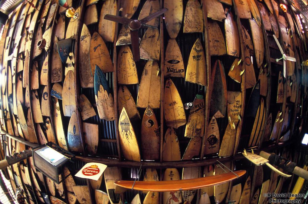 Broken Surfboards, Dominical, Costa Rica
