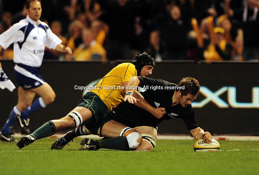 Australian Wallabies vs New Zealand AllBlacks<br /> Rubgy Union/ Bledisloe Cup<br /> Etihad Stadium, Melbourne Australia<br /> Saturday, 31 July  2010<br /> &copy; Sport the library / Jeff Crow