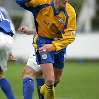 Chris Hay St Johnstone...16.10.04<br /><br />Picture by Graeme Hart.<br />Copyright Perthshire Picture Agency<br />Tel: 01738 623350  Mobile: 07990 594431