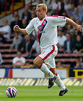 Fotball<br /> England<br /> Foto: Fotosports/Digitalsport<br /> NORWAY ONLY<br /> <br /> Crystal Palace FC vs Burnley FC Championship 23/08/08<br /> <br /> James Scowcroft of Palace in action.