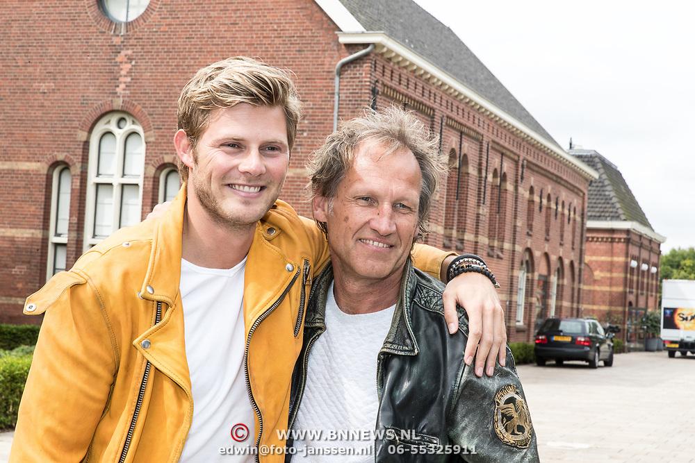 NLD/Amsterdam//20170810 - Persdag Spaak, Steven de Jong en Tim Douwsma