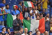 Ultras, Tifosi, Spettatori, Pubblico<br /> Nazionale Italiana Maschile Senior<br /> Eurobasket 2017 - Group Phase<br /> Georgia - Italia<br /> FIP 2017<br /> Tel Aviv, 02/09/2017<br /> Foto Ciamillo - Castoria/ M.Longo