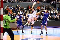 Miha Zviezj - 01.04.2015 - Toulouse / Cesson Rennes - 19eme journee de Division 1<br />Photo : Manuel Blondeau / Icon Sport