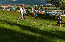 08.07.2017, Red Bull Ring, Spielberg, AUT, FIA, Formel 1, Grosser Preis von Österreich, Qualifying, im Bild Campingplatz, Fans // Campsite Fans After the Qualifying of the Austrian FIA Formula One Grand Prix at the Red Bull Ring in Spielberg, Austria on 2017/07/08. EXPA Pictures © 2017, PhotoCredit: EXPA/ JFK